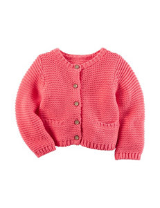 Carter's® Pink Knit Cardigan Sweater – Baby 3-12 Mos.
