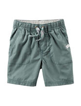 Carter's® Green Poplin Shorts – Toddler Boys