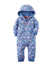Carters® Aztec Print Coverall - Baby 0-12 Mos.