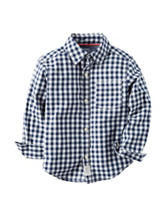 Carter's® Gingham Poplin Woven Shirt – Toddler Boys
