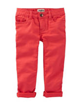 OshKosh Bgosh® Orange Twill Pants - Toddler Girls