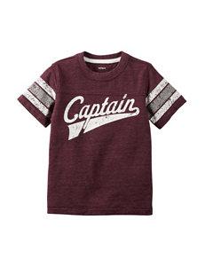 Carter's® Captain Varsity Striped T-shirt – Toddler Boys