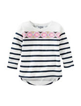 OshKosh Bgosh® Striped Print Top - Girls 4-6x