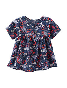OshKosh Bgosh® Floral Print Woven Top - Toddler Girls