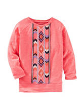 OshKosh Bgosh® Aztec Print Tunic Top - Toddler Girls