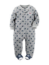 Carter's® Football Microfleece Sleep & Play – Baby 0-9 Mos.