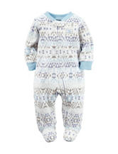 Carter's® Aztec Print Microfleece Sleep & Play – Baby 0-9 Mos.