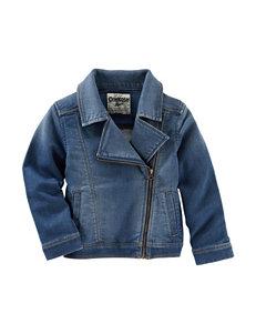 OshKosh Bgosh® Denim Moto Jacket - Girls 4-6x