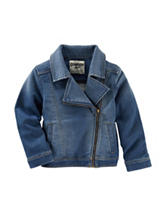 OshKosh Bgosh® Denim Moto Jacket - Girls 4-6x
