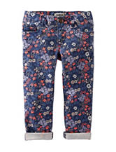 OshKosh Bgosh® Floral Print Twill Pants - Girls 4-6x