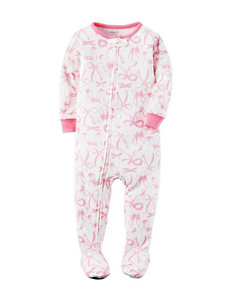 Carters® Bow Print Sleep & Play - Toddler Girls