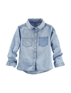 OshKosh Bgosh® Chambray Top - Girls 4-6x