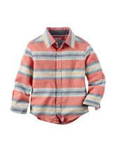 Carter's® Multi Striped Woven Shirt – Boys 4-8