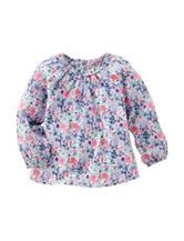OshKosh Bgosh® Floral Print Woven Top - Toddler Girls