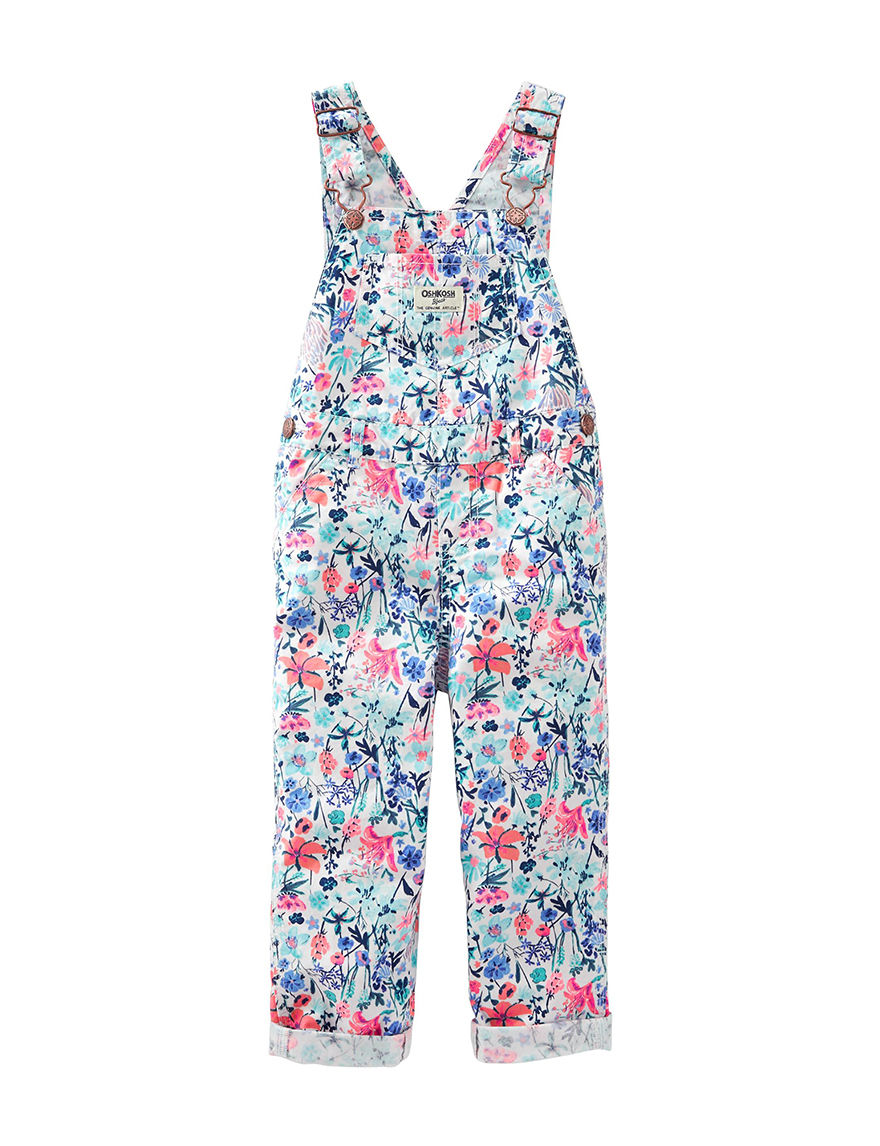 Oshkosh B'Gosh Blue Floral Relaxed