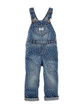 OshKosh B'gosh® Dot Print Overalls - Toddler Girls