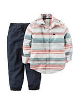 Carter's® 2-pc. Striped Shirt & Pants Set - Toddler Boys