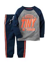 Carter's® 2-pc. Tiny & Tough T-shirt & Pants Set - Toddler Boys
