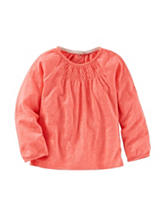 OshKosh B'gosh® Orange Knit Top - Toddler Girls