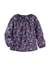 OshKosh B'gosh® Floral Print Woven Top - Toddler Girls