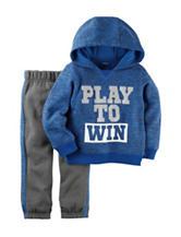 Carters® 2-pc. Play to Win Hoodie & Pants Set - Baby 12-24 Mos.