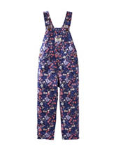 OshKosh B'gosh® Floral Print Overalls - Toddler Girls