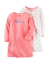 Carter's® 2-pk. Dance Sleep Gown Set - Toddler Girls