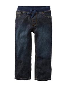 Carter's® Mid-Tier Dark Wash Jeans – Toddler Boys
