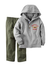 Carter's® 2-pc Heather Grey Hoodie & Pants Set – Baby 12-24 Mos.