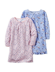 Carter's® 2-pk Pajama Gowns - Toddler Girls