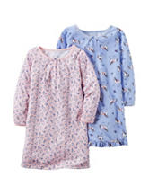 Carter's® 2-pk Pajama Gowns - Toddler Girls