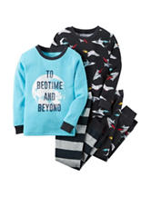 Carter's® 4-pc. Rocket Ship Pajama Set - Baby 12-24 Mos.