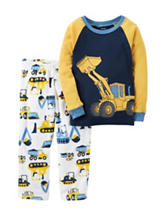Carter's® 2-pc. Construction Pajamas Set - Baby 12-24 Mos.