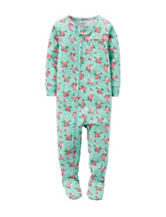 Carter's® Ditsy Floral Print Sleeper – Toddler Girls