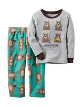 Carters® 2-pc. Adventure Bear Pajama Set - Baby 12-24 Mos.
