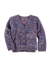 OshKosh B'gosh® Marled Cardigan - Toddler Girls
