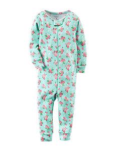 Carter's® Ditsy Floral Print Footless Sleeper – Toddler Girls
