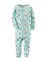 Carter's® Ditsy Floral Print Footless Sleeper – Toddler Girls