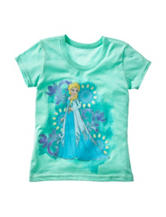 Disney Frozen Elsa Floral T-shirt – Girls 4-6x