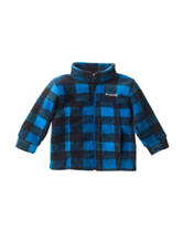 Columbia Blue Plaid Zing Jacket - Baby 12-24 Mos.
