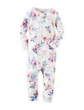 Carter's® Vibrant Floral Print Footless Sleeper – Toddler Girls
