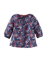 OshKosh B'gosh® Floral Print Woven Top - Toddler Girls