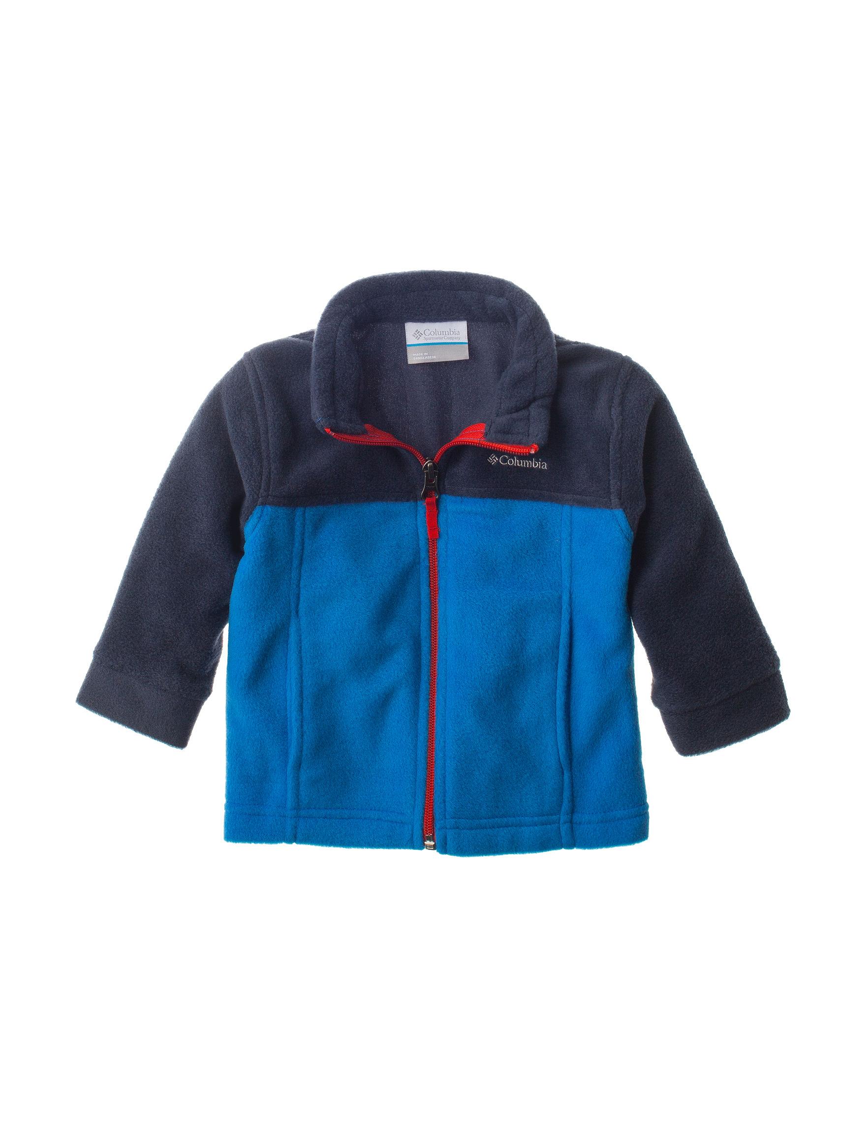 Columbia Super Blue Lightweight Jackets & Blazers