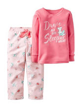 Carters® 2-pc. Dance All Day Pajama Set - Toddler Girls