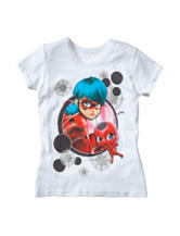 Miraculous Ladybug Screen Print Top – Girls 4-6x