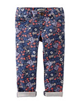 OshKosh B'gosh® Floral Print Twill Pants - Toddler Girls