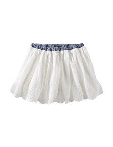 OshKosh B'gosh® White Eyelet Skirt - Girls 4-6x