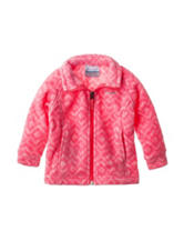 Columbia Pink Benton Fleece Jacket – Baby 12-24 Mos.