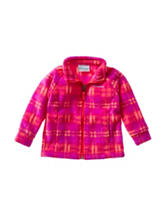 Columbia Benton Plaid Print Fleece Jacket – Baby 12-24 Mos.