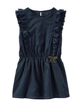 OshKosh B'gosh® Navy Woven Dress - Toddler Girls